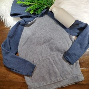Tek Gear Grey/Blue Sweatshirt/Hoodie sz 8 small